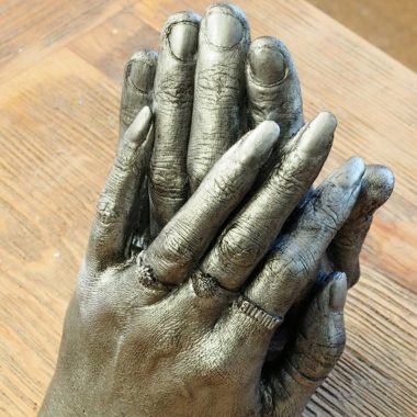 Anniversary hands | Cherished Design - Life Casting